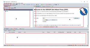 ZAP User Interface